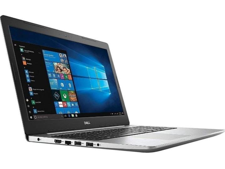 Dell inspiron 15 5000 i7 8550u 1tb hdd 128 gb ssd 8 gb ram laptop